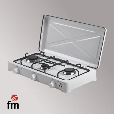 COCINA GAS HG- 300 FM 3 FUEGOS