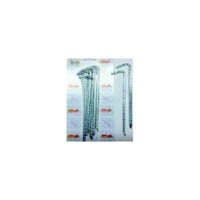 PIQUETAS CAMPING CINCADA 6X200 MM BL/6