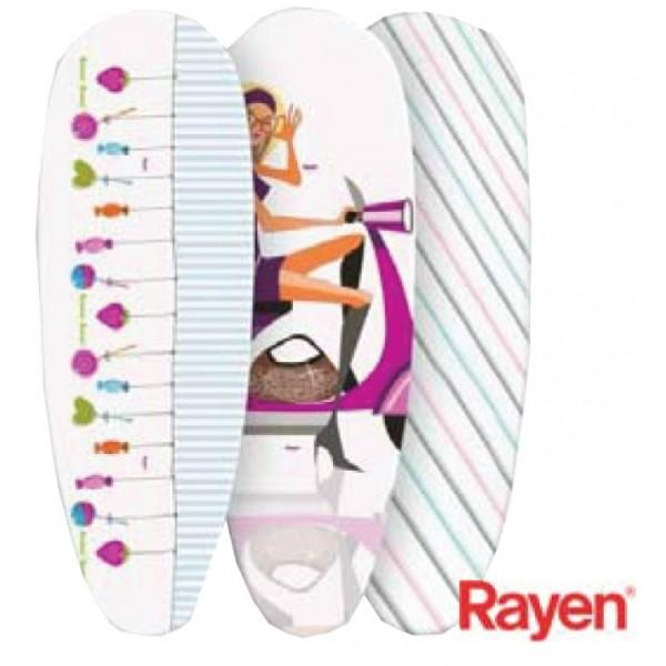 Funda tabla planchar rayen mulet n 130x45 cm disgrup - Tabla planchar rayen ...